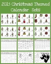 Free 2015 Christmas Calendar Printables 3 Dinosaurs