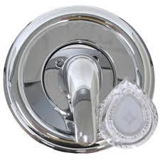 tub shower trim kit for moen in chrome