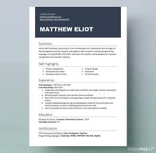 Free Resume Sample Resume Templates Examples Free Word Doc