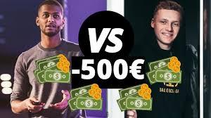 Yomi Denzel VS Lucas Bivert -500€ OFFERT AVIS sur Chaque Formation  Dropshipping ! - YouTube