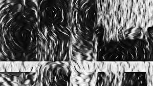 black white oil painting lines dark abstract monochrome hd wallpaper