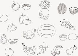 Coloring Pictures Of Fruit Free Coloring Pictures