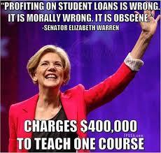 elizabeth warren s hypocrisy on high college tuition brutally exposed warrenhypocrite