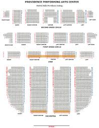 Ppac Seating Chart Mainstage Venues Festival Ballet Providence