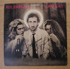 Original AUTOGRAPHED <b>Pete Townshend</b> album <b>Empty</b> Glass from ...