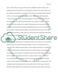 sir gawain and the green knight analytical essays sir gawain and the green knight thesis statements and important
