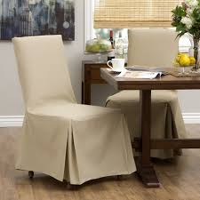 natural cream parson chairs covers for minimalist dining room decor