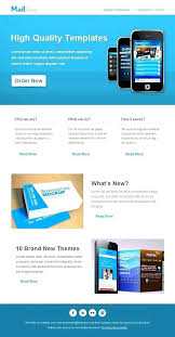 Business Email Newsletter Template Mail Free Download