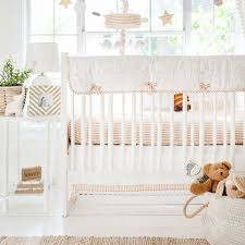 elephant crib bedding heart of gold