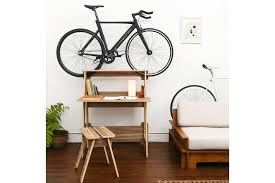diy outdoor bike storage new bike rack furniture is perfect for tiny apartments and dorm rooms