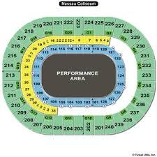 58 Precise Nycb Nassau Coliseum Seating Chart