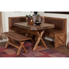 designs sedona table top base: sunny designs ro t sedona table with x base in rustic oak table