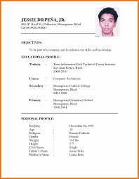 7 Resume Sample For Job Application Budget Reporting
