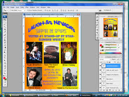 tutorial how to make a flyer for your local stand up comedy night make sure people know when and where the thing is happening no cover for ladies shows respect and lets them know that it s not just a boys club