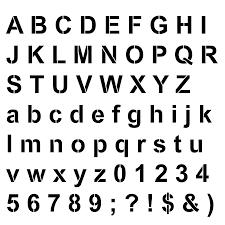 free letter stencils e3p28exq