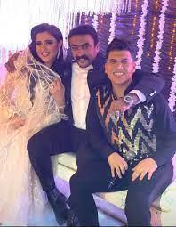شاهد أول صورة من حفل زفاف ياسمين عبد العزيز وأحمد العوضي سيدتي