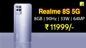 Realme 8S 5G Launch in India on ...
