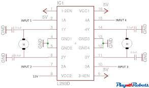 dc motor driver circuits circuit diagram