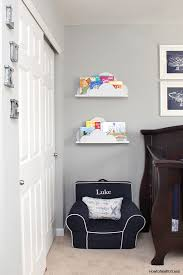 Diy kids room Organizing Ideas Diy Cloud Bookshelf Ledges Could Display As Kids Books As Family Photos via Howtonestforless Shelterness 40 Cool Kids Room Decor Ideas That You Can Do By Yourself Shelterness