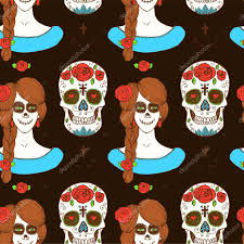 мексиканские девушки тату мексиканские череп эскиз и девушка