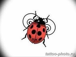 фото идея тату божья коровка 22122018 001 Photo Ladybug Tattool