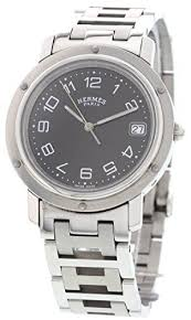 1000 images about certified pre owned watches for men hermes clipper swiss quartz mens watch cl6 710 certified pre owned