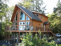 lake house designs with views craftsman plans walkout basement small