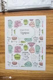 Recipe Binder Templates Organize Your Recipes With This Adorable Diy Recipe Binder