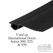 bug seal for sliding screen door 7 foot roll black
