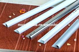 post tile countertop edge options ceramic edging aluminum aluminium metal