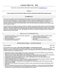 Cv Sample For Graduate Student Professional Resume Templates