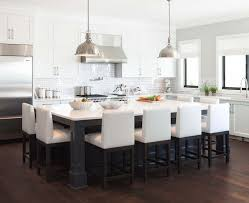 Chic Kitchen Islands With Tables Kitchen Island Attached Table Houzz