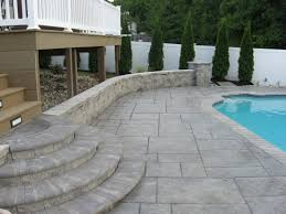 ... Raised Stamped Concrete Patio Remodel Interior Planning House Ideas  Modern With Raised Stamped Concrete Patio Design ...