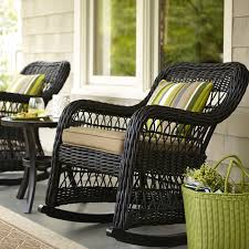 black wicker rocking chair. Perfect Wicker Wicker Chairs Lowes Patio Furniture Clearance Sale Cleaning Outdoor Patio  And Deck Intended Black Wicker Rocking Chair N