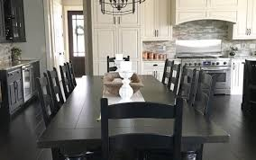 dinette modern small kitchen centerpieces diy oak bench decor set chairs plans pine table sets wooden