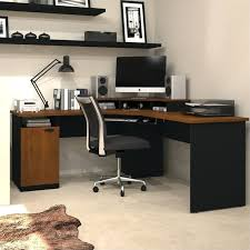 corner computer desk furniture wood home office corner computer desk in brown altra furniture aden corner