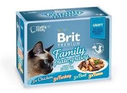 Брит (<b>Brit Premium Family</b> Plate Gravy) набор <b>паучей</b> семейная ...