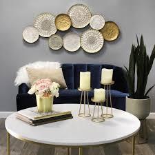 stratton home decor multi metal plate