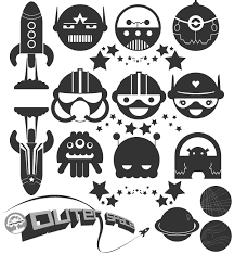 Free Space Illustrator Vector Pack Download Free Vector Art Free