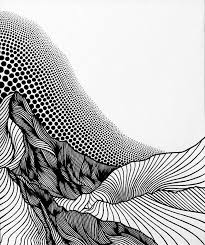 Now find two missing lines, intersecting at this dot. Artist Christa Rijneveld Creates Beautiful Mountainous Landscapes Using Only Lines And Dots