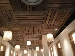 wood ceiling lighting. Modren Lighting Image Of Wood Basement Ceiling Light Fixtures On Lighting G
