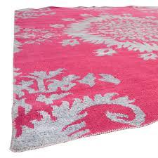 one kings lane one kings lane johanna fuchsia rug used
