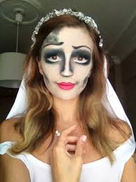 corpse bride this is me trying the corps bride makeup