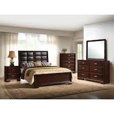 Mirror Bedroom Set Paloma Bedroom Bed Dresser Mirror Queen B6510 Bedroom