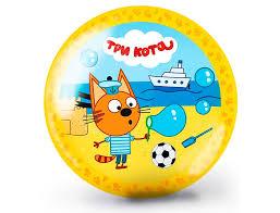 <b>Мяч Три кота</b>-2 15 см ЯиГрушка — купить в Москве в интернет ...