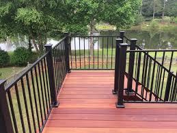 deck repair atlanta. Delighful Deck Kennesaw GA Hardwood Deck Installation With Repair Atlanta L