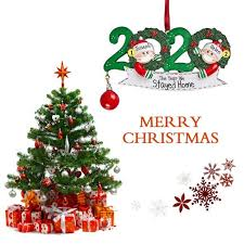2020 Men Women Couples <b>DIY Name</b> Christmas Tree Hanging ...
