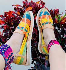 zj00798 Huarache artesanal tan colores Calidad Premium para mujer de piso -  Huarache´s Factory