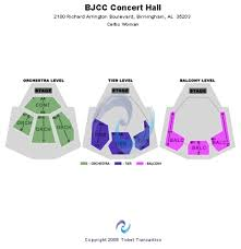 Bjcc Theatre Seating Chart Bjcc Concert Hall Tickets Seating Charts And Schedule In