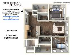 Gallery Red Cedar Flats East Lansing - Bedroom furniture lansing mi